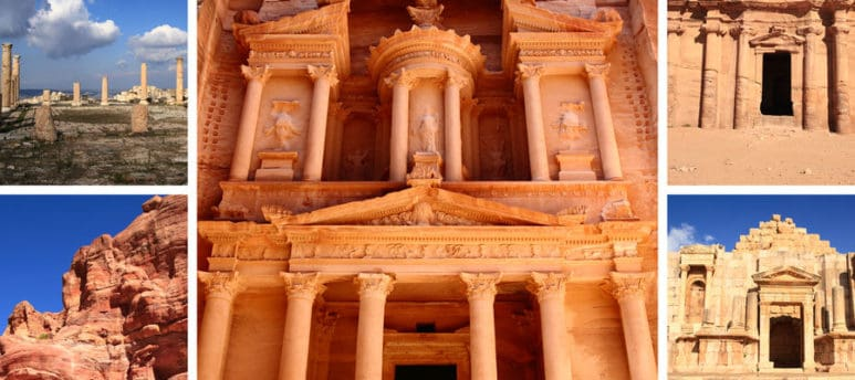 Visiting the amazing Petra is part of our tour packages when you travel to Egypt and Jordan