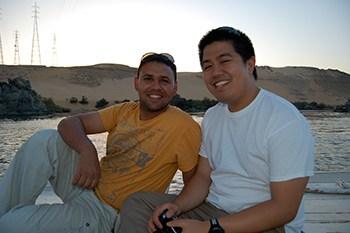 Enjoying Sailing Down the Nile
