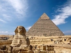 Ancient Egyptian Sphinx of Giza