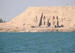 Abu Simbel Temple in Aswan, Egypt