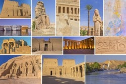 Egyptian Treasures in the East and West Banks of Luxor