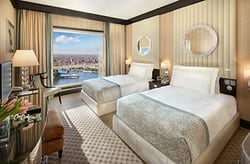 Fairmont Nile City Hotel Room