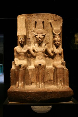 God Amun Ra and his Wife Mut