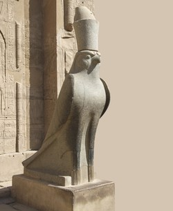 God Horus at Edfu Temple