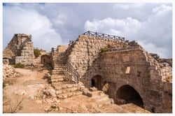 Ajloun Castle also known as is a 12th-century Muslim castle situated in northwestern Jordan