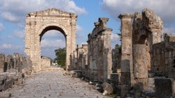 Tyre, sometimes romanized as Sour, is a city in the South Governorate of Lebanon