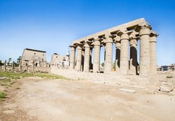 Luxor Temple is only 2 miles away from Karnak temple. It was built by King Ramses II