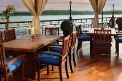 Nile Dahabeya Deck Tables