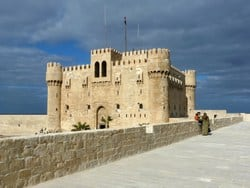 Qait Bay Fortress in Alexandria
