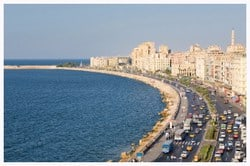 Alexandria is the second biggest city in Egypt