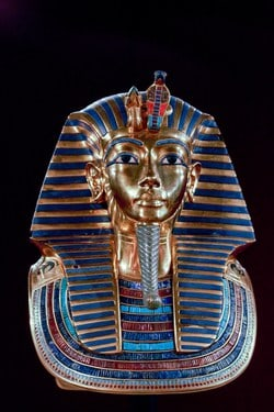 King Tut, the only pharaoh who ruled Egypt when he was 9 and he died when he was 18 years old.