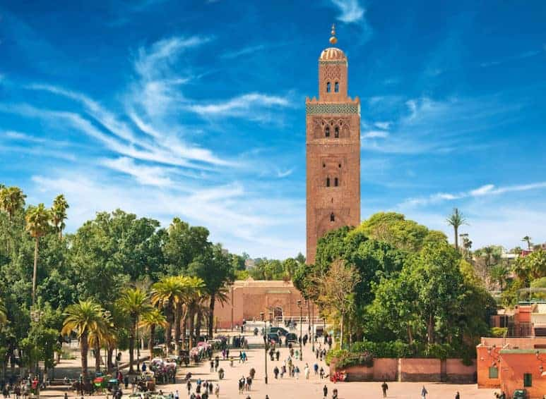 Marrakesh is very multi lingual—from business people to shopkeepers—most will be able to figure out where you from before you even say a single word.