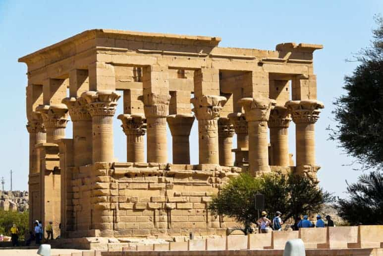 The Philae Temple in Aswan