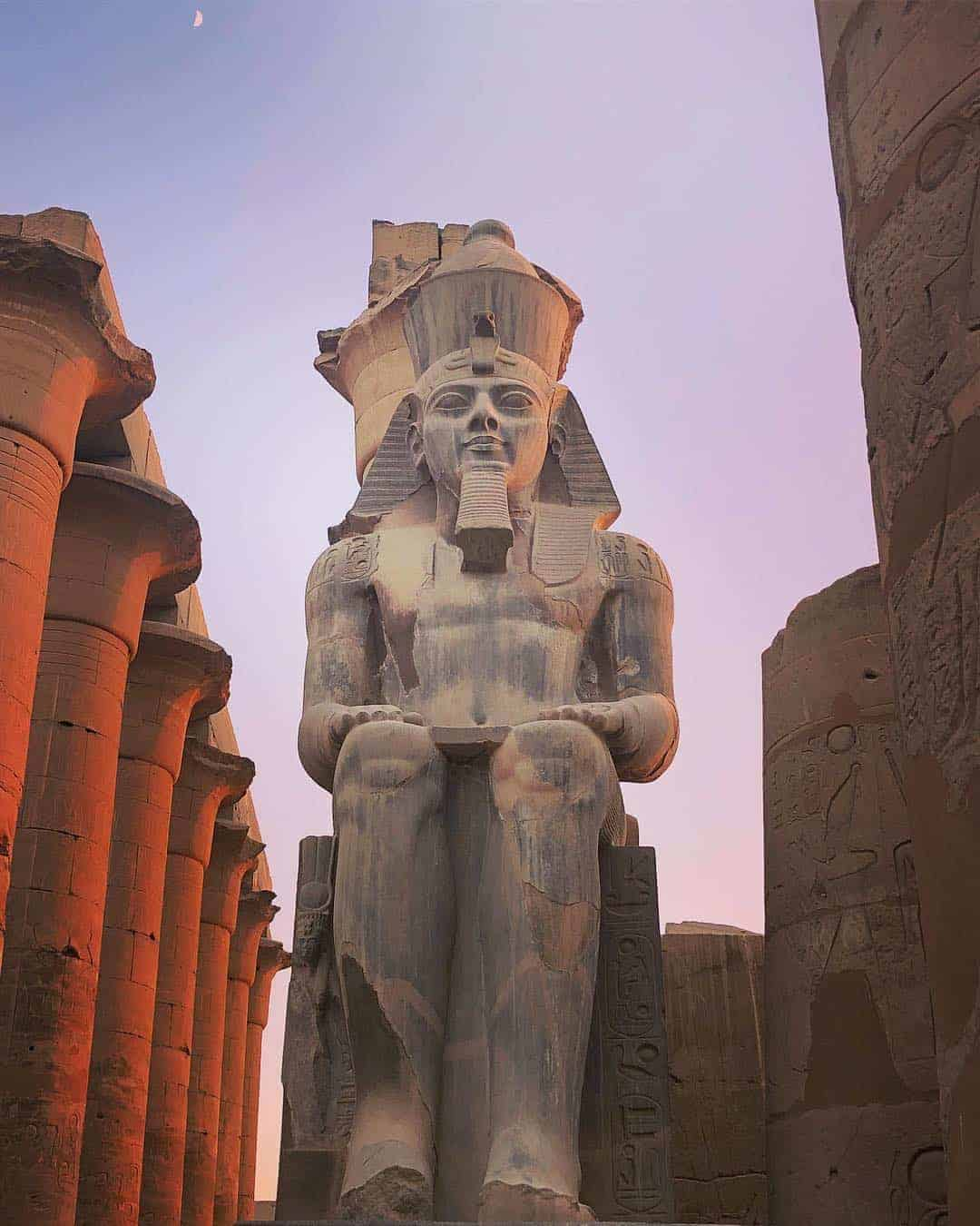 King Ramesses II in Luxor