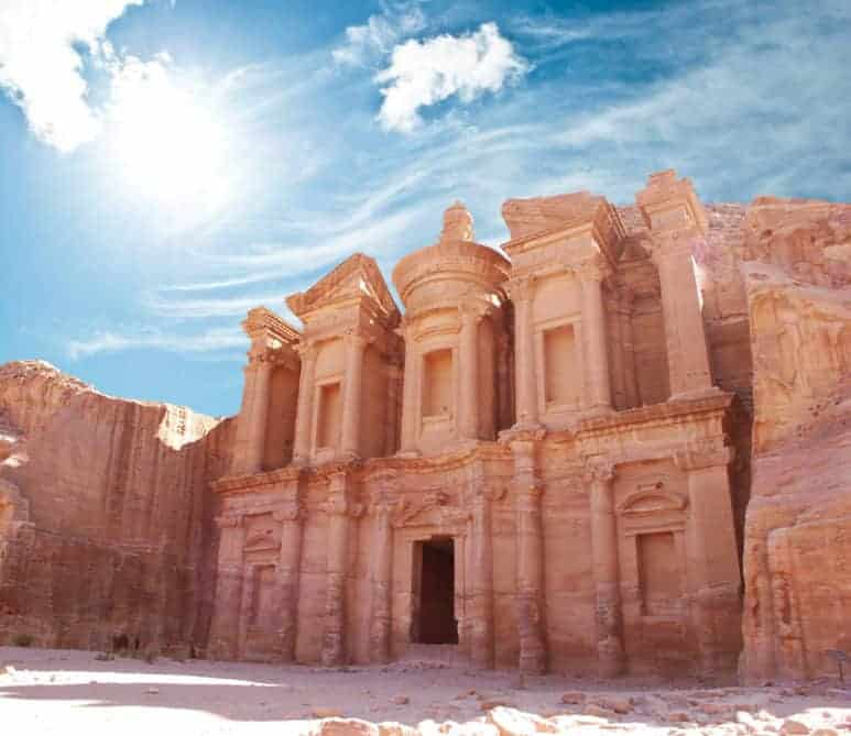 Petra is one of the top attractions in Jordan