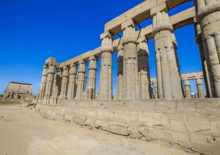 Luxor Temple in The East Bank of Luxor