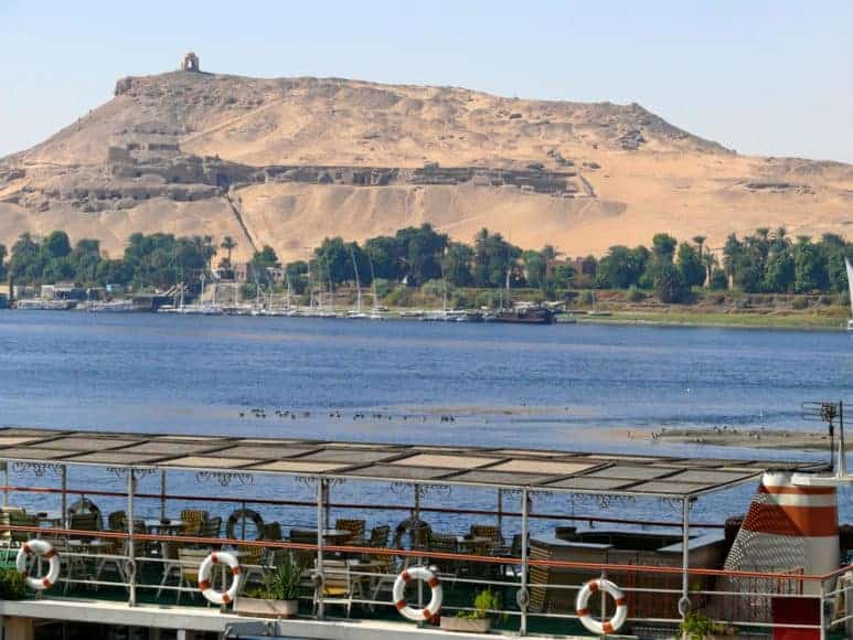 Traveling to Egypt and sailing down the Nile
