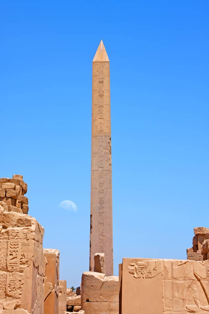 Queen Hatshepsut Obelisk in Karnak Temple