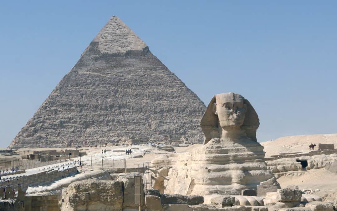 legends of the sahara the great pyramids and the sphinx