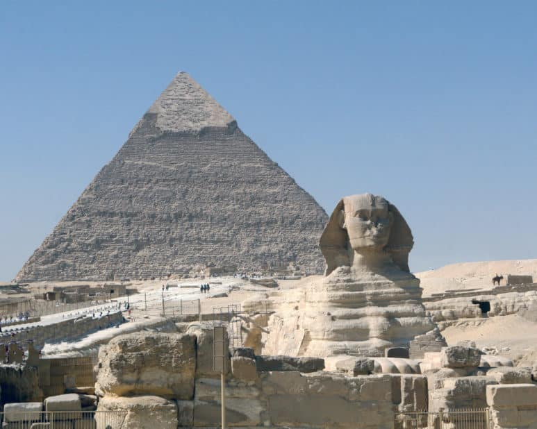 Legends of the Sahara: The Great Pyramids and the Sphinx
