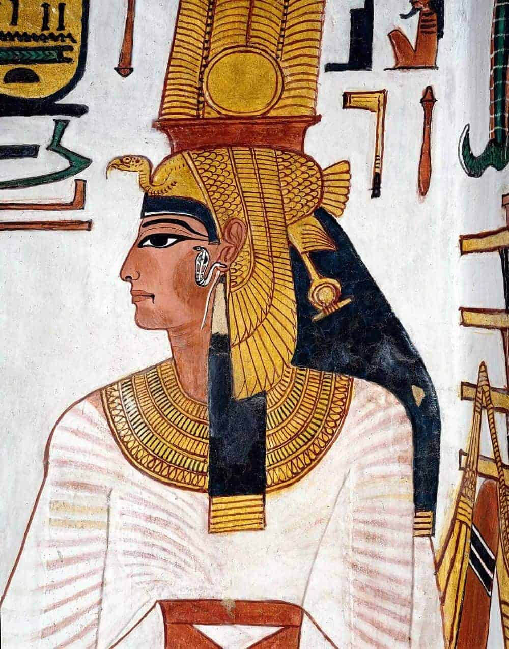 The Tomb of Queen Nefertari - Photo Credit Pinterest