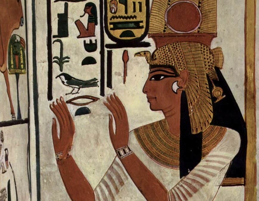 Nefertari First Queen Of King Ramesses The Great
