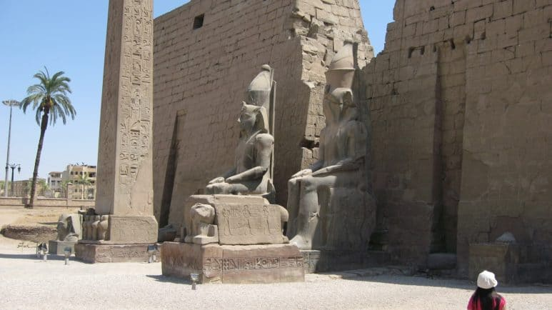 King Ramses II, The Builder of Luxor Temple