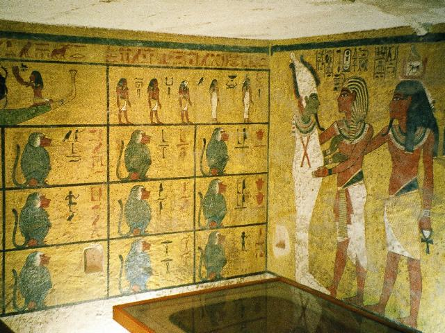 Tomb of King Tut in the Valley of the Kings