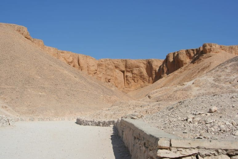Valley of the Kings, also known as valley of the secrets