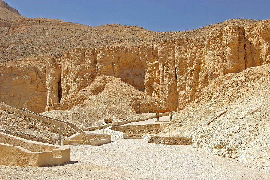 Valley of the Kings in the West Bank of Luxor