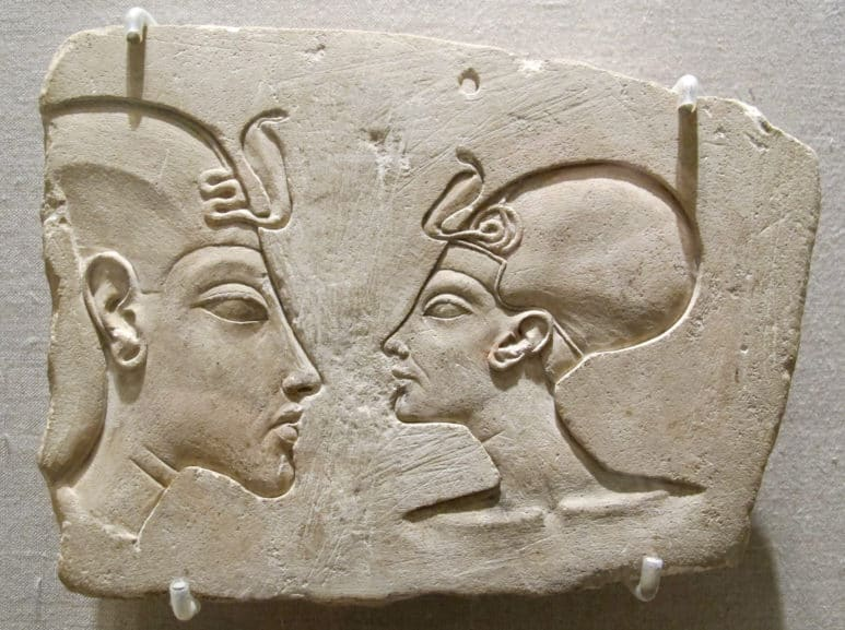 Queen Nefertiti, one of the most famous Egyptian queens