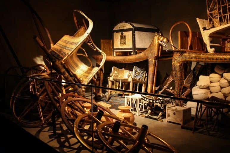 The tomb of King Tutankhamun