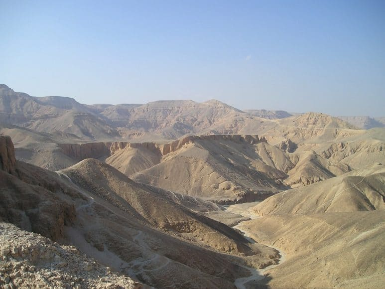 The Amazing Valley of the queens in the West Bank of Luxor