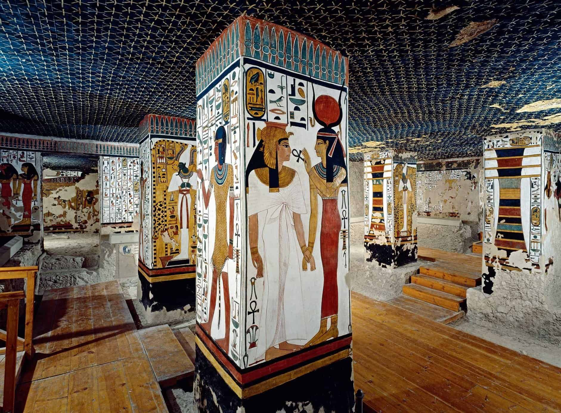 Queen Nefertari's Tomb in the Valley of the Queens