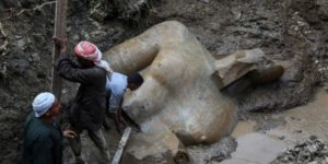 NEW STATUE FOR KING RAMESSES II DISCOVERED IN EGYPT
