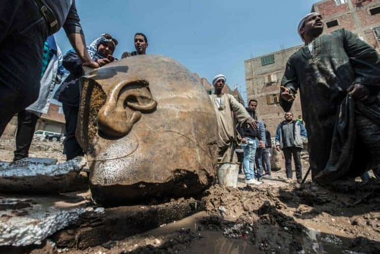 King Ramses II New Discovery in Cairo