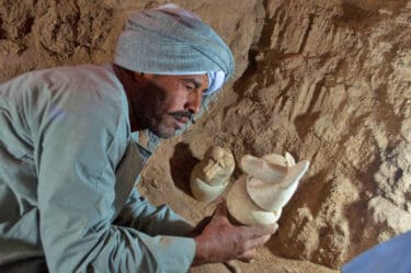 Mummies and Over 1,000 Sculptures Found in Newly Uncovered Tomb in Luxor, Egypt