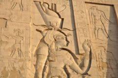 Goddess Hathor in Dendera temple
