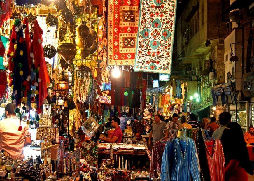 Great Shopping Experience in Khan el Khalili Bazaars