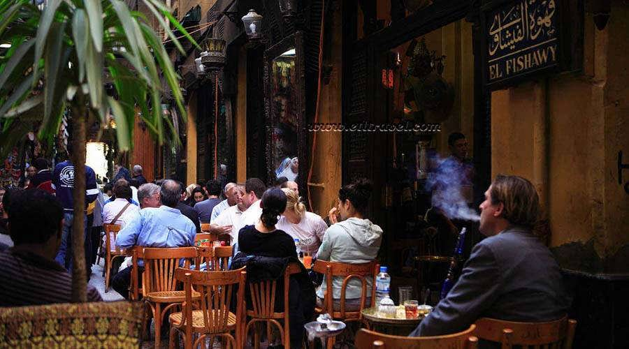 El Fishawy Cafe in the Heart of Khan el Khalili