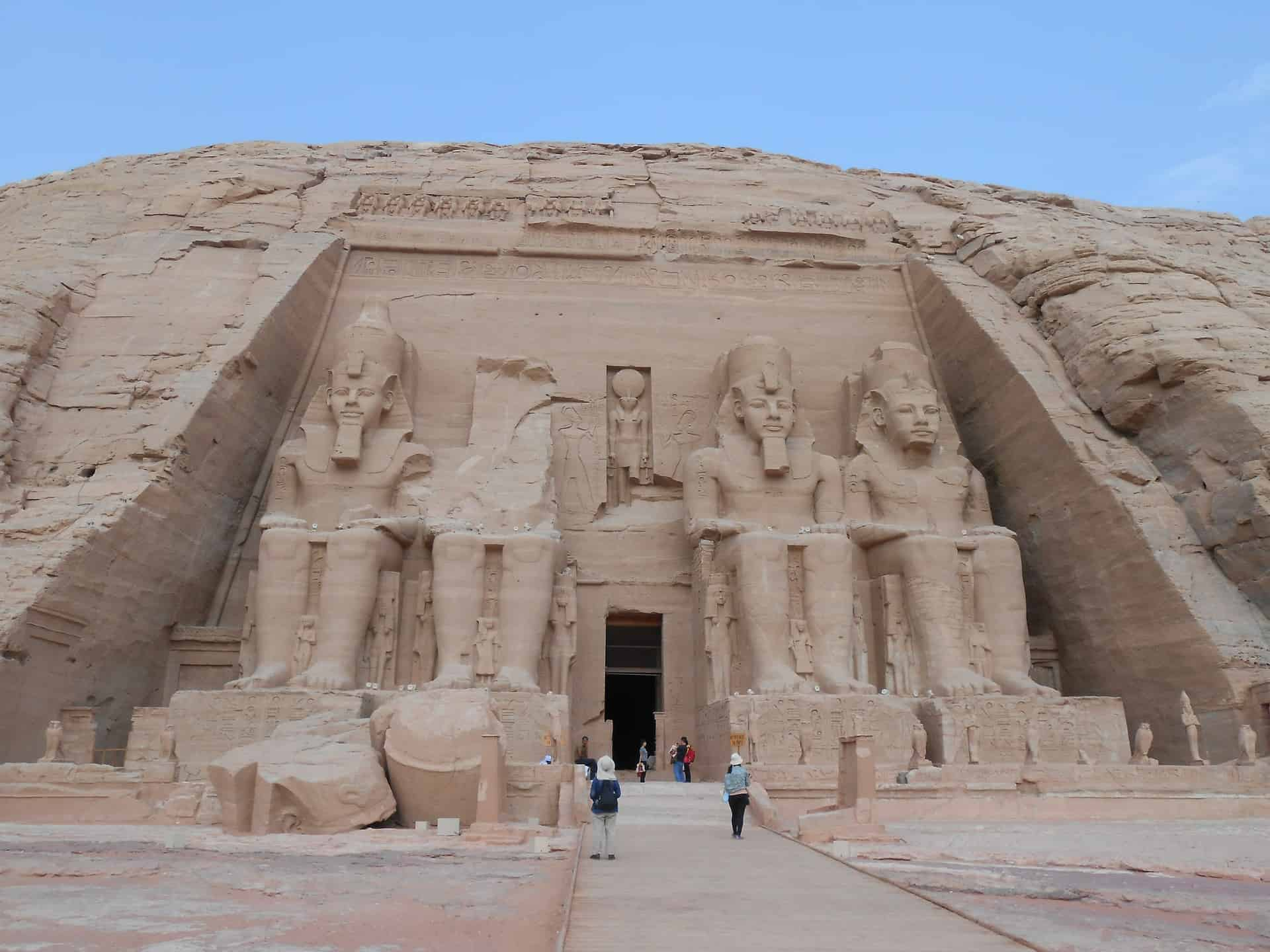 Abu Simbel temple, one of the most amazing historical sites in upper Egypt