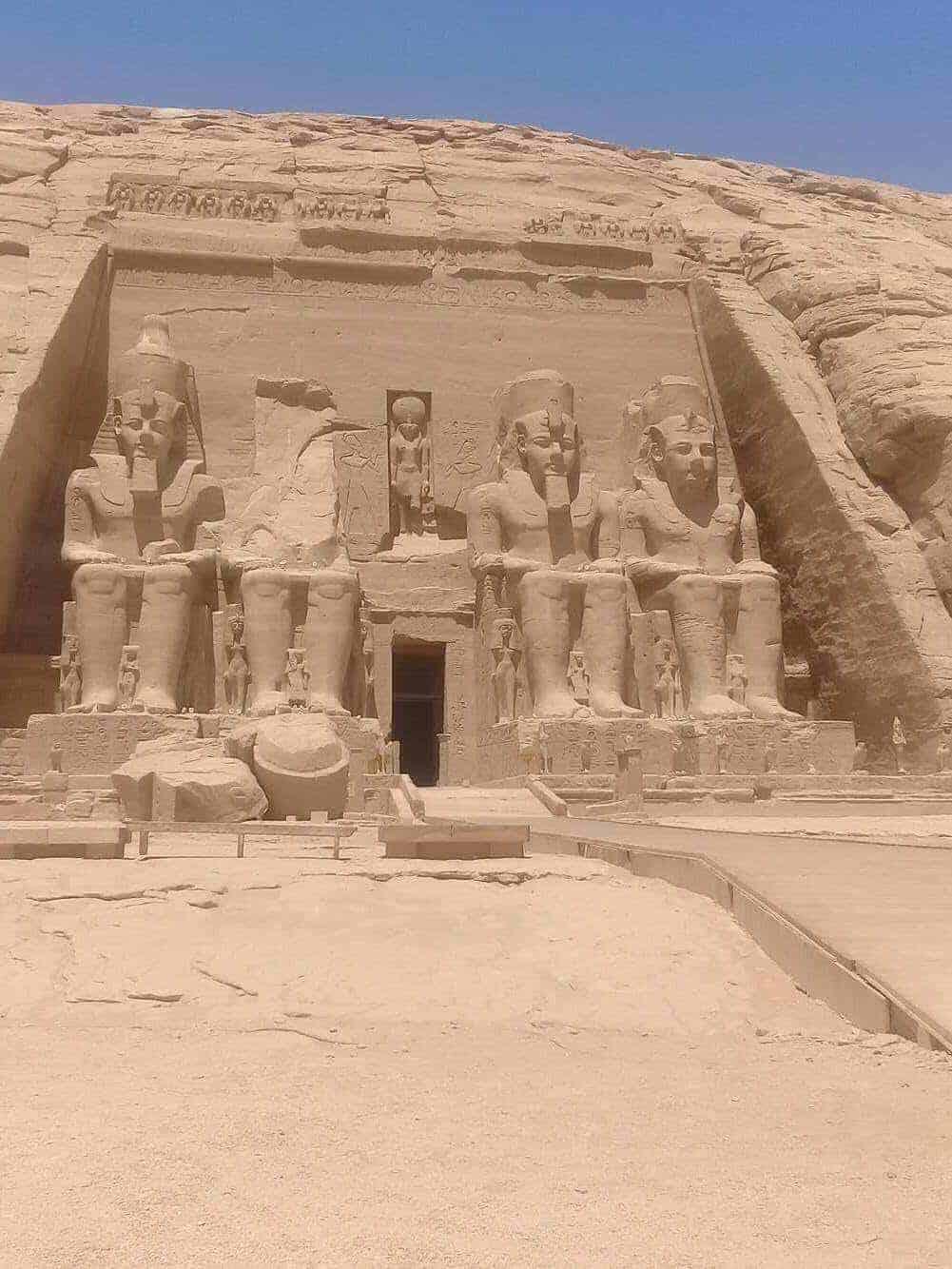 The Amazing Abu Simbel Temple
