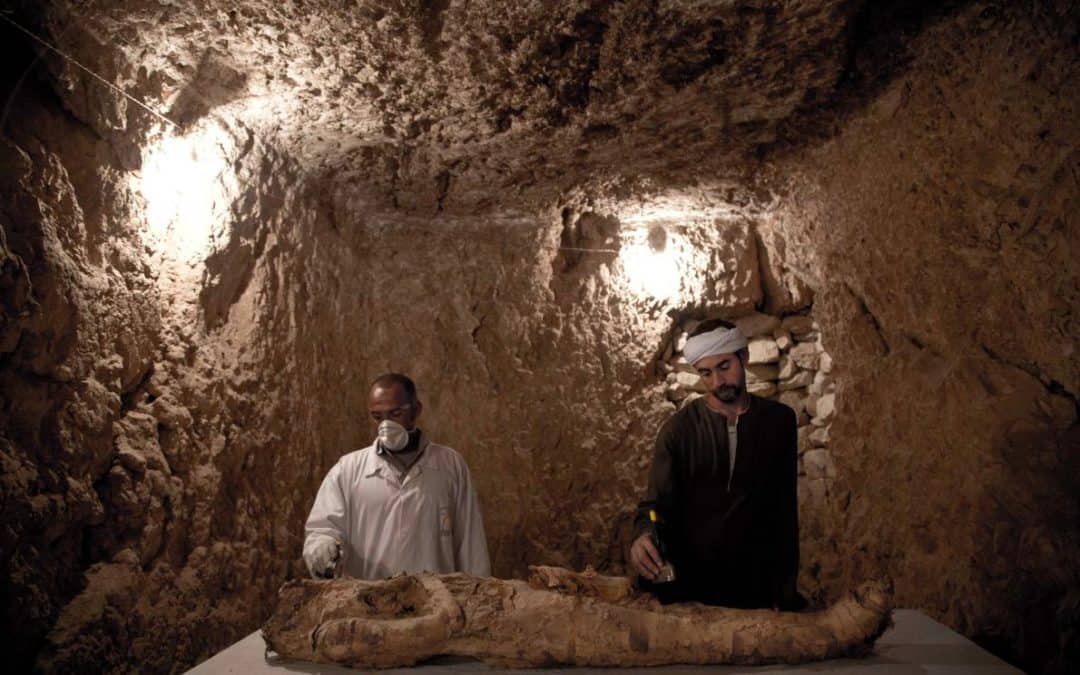 Egypt Announces Discovery of 3,500-Year-Old Tombs in Luxor