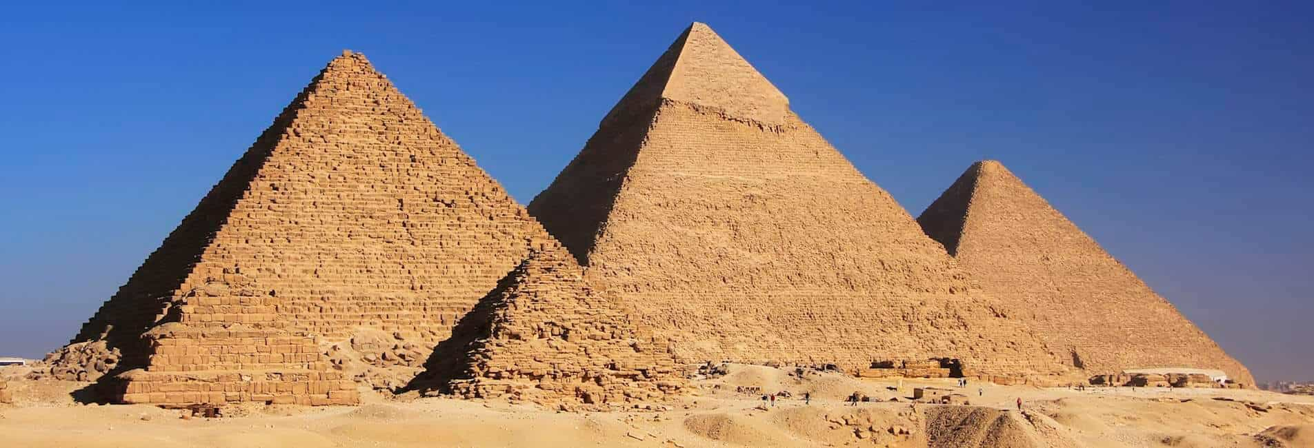 A private tour to The Great Pyramids of Giza is a must when planning your dream trip to Egypt
