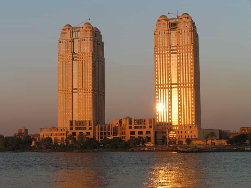 Fairmont has one of the best hotel locations in Cairo overlooking the Nile- Photo Credit Fairmont