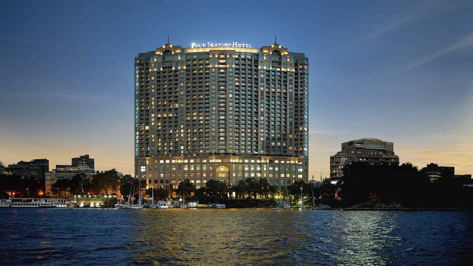 Four Season Nile Plaza, one of top hotels in Cairo Photo Credit - Four Seasons