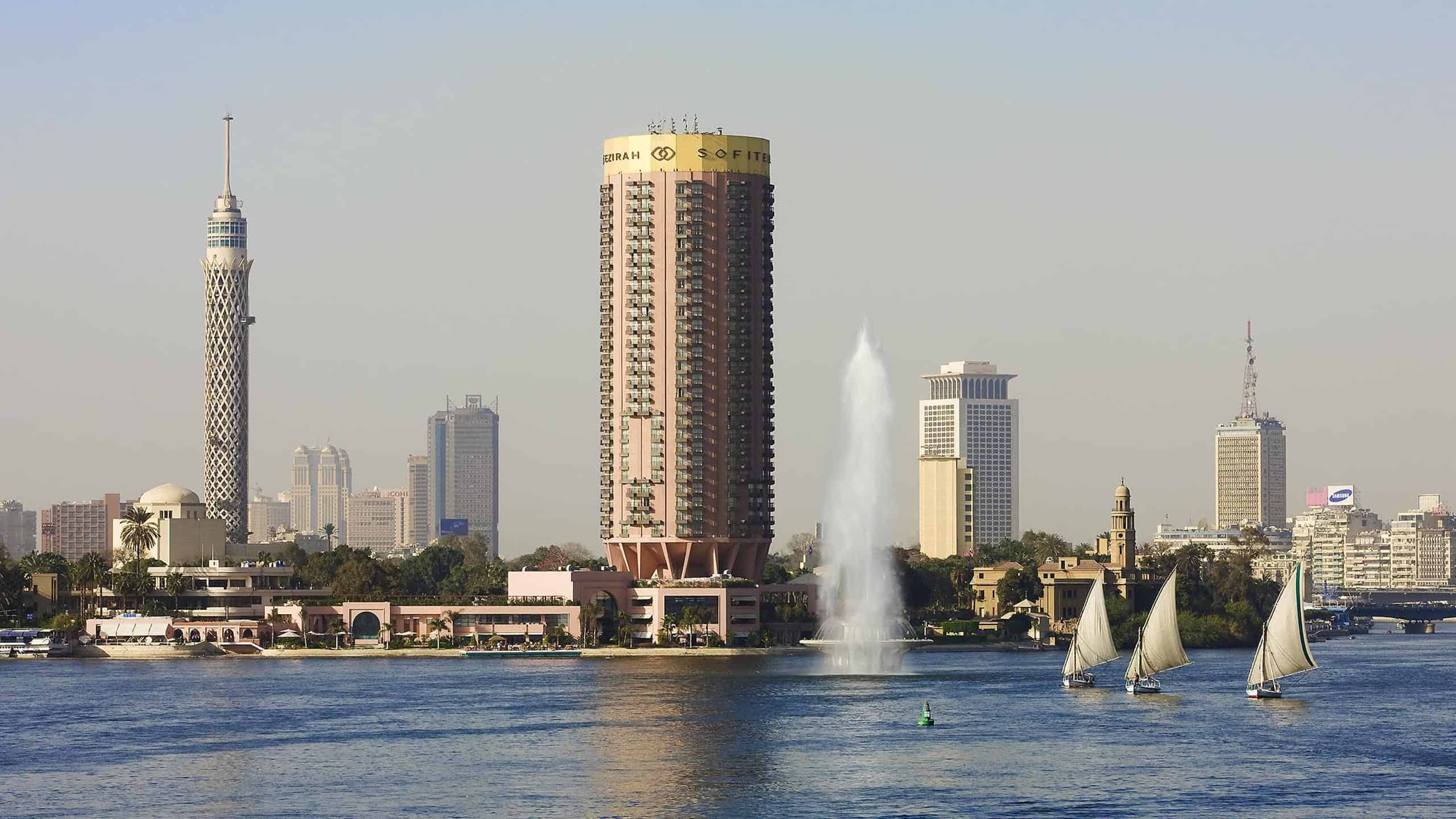 Sofitel El Gezirah one of most famous hotels in Cairo - Photo Credit Sofitel