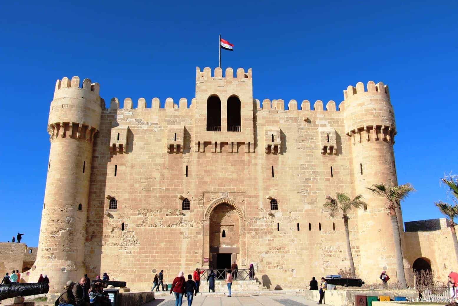 The Citadel is one of best historical sights in Alexandria - Photo Credit: Traveling Squad