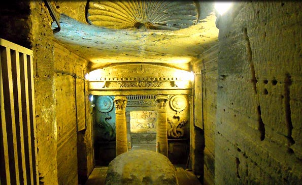 The Catacombs are on the top list of sights in Alexandria