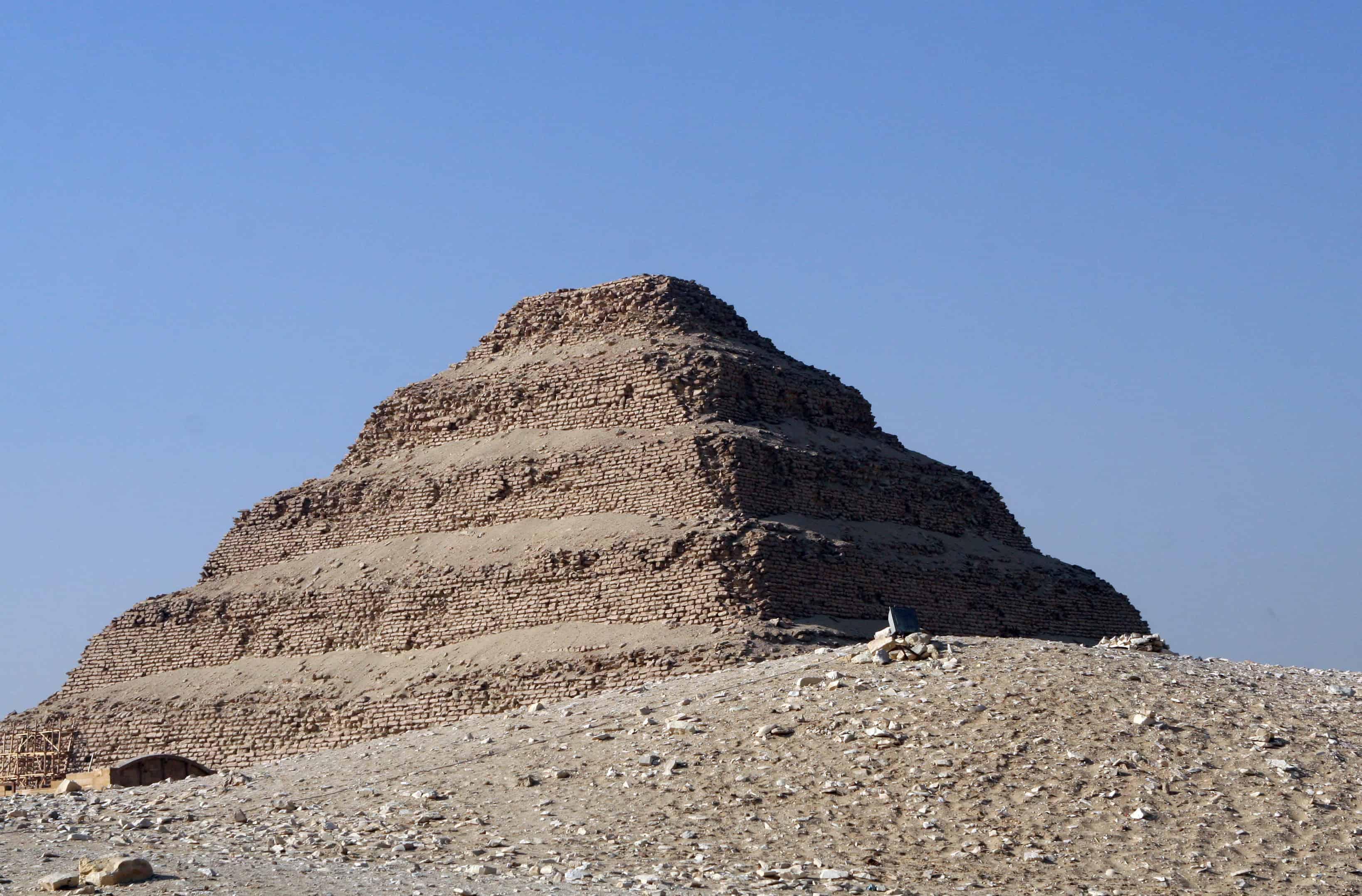 Zoser Step Pyramid in Saqqara